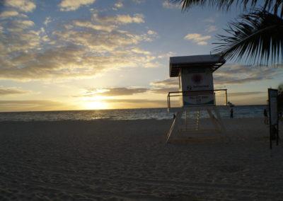 madrugada en Playa Del Carmen