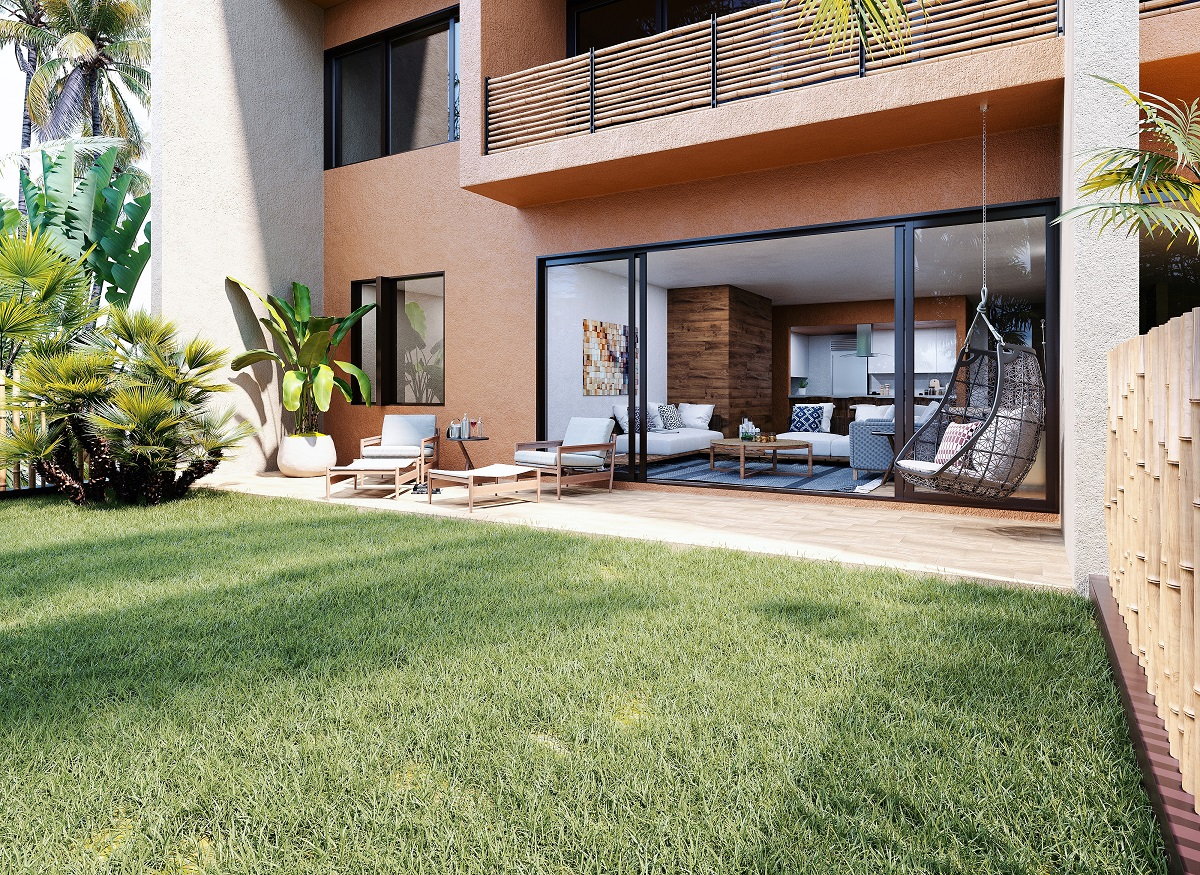 8.- Jardín Modelo Garden House
