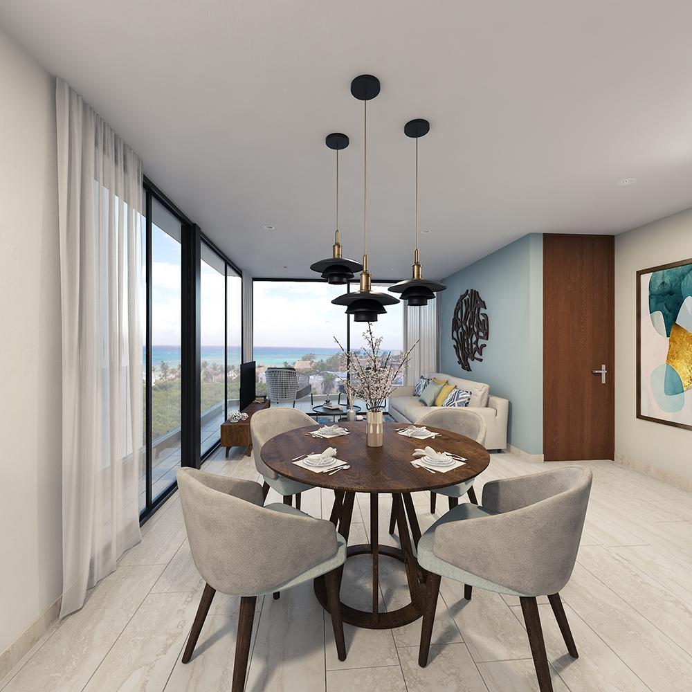 DEPTO 2_- Paravian - Pelicano Properties - playa del Carmen