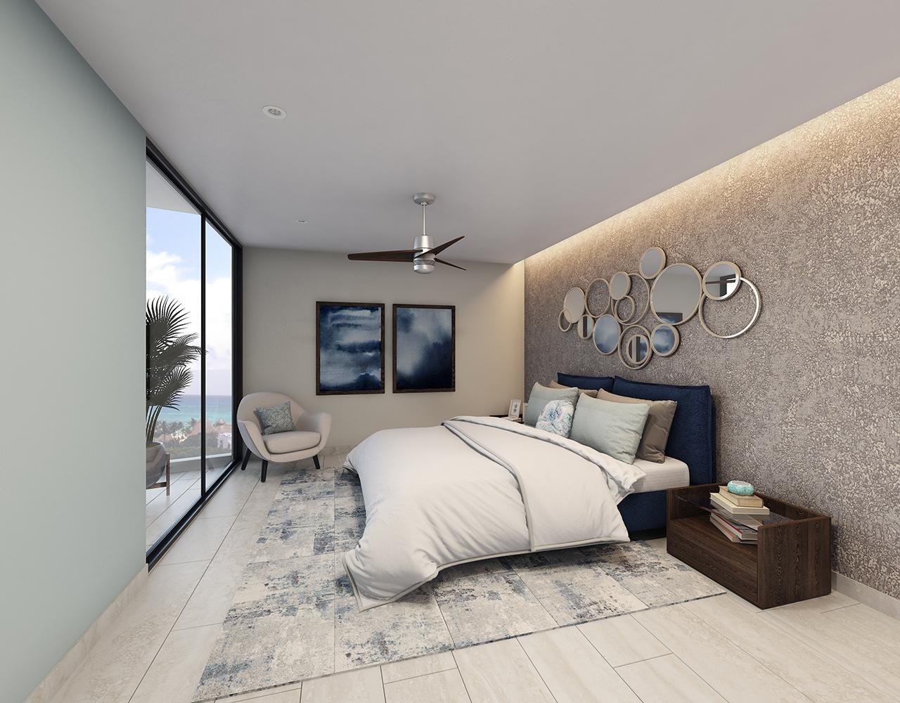 RECAMARA PPAL- Paravian - Pelicano Properties - playa del Carmen
