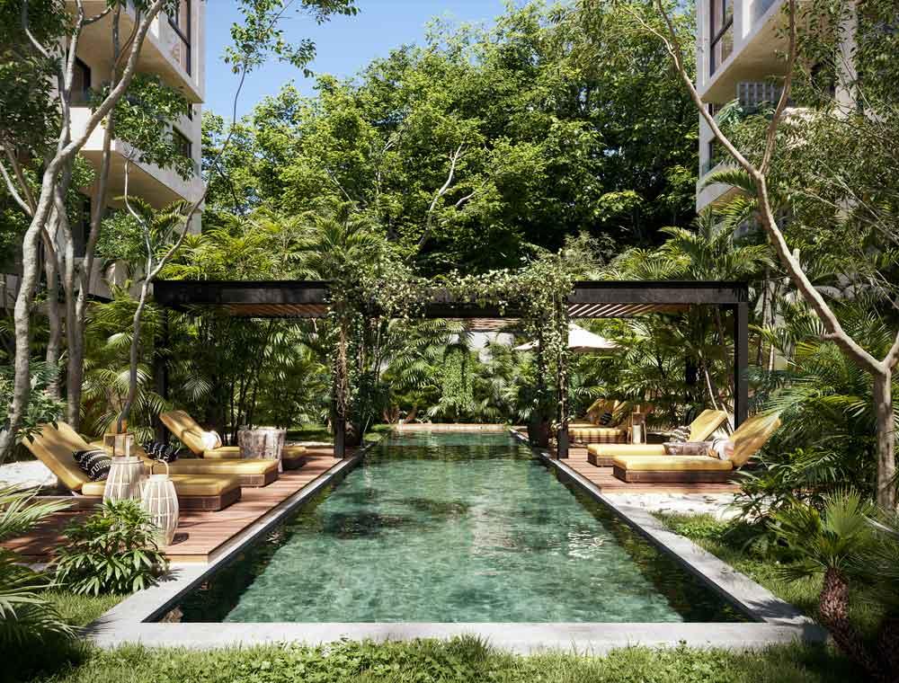 ALBERCA - Baoré - Tulum - Pelicano Properties