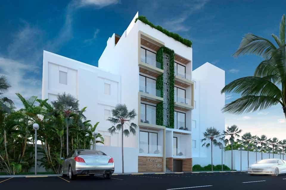 FACHADA-DÍA-Centuria-15-Bis-Playa-del-Carmen-Pelicano-Properties