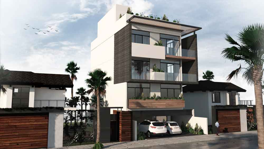Fachada-02---Huaya-18---playa-del-Carmen---Pelicano-Properties