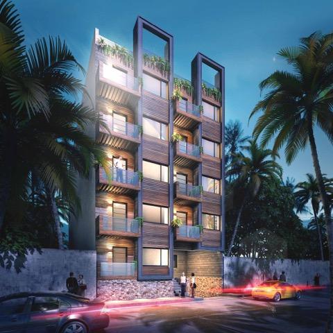 Fachada - Cosmo 42 - playa del Carmen - Pelicano Properties