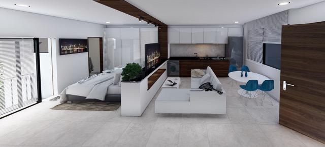 Interior lateral 2 - Cosmo 42 - playa del Carmen - Pelicano Properties
