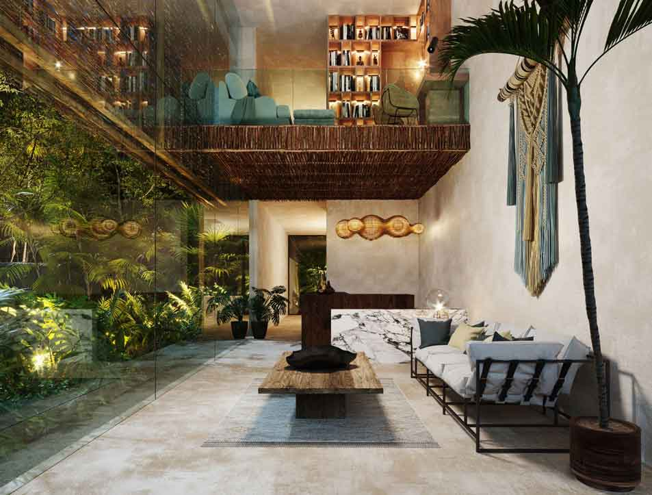 LOBBY - Baoré - Tulum - Pelicano Properties