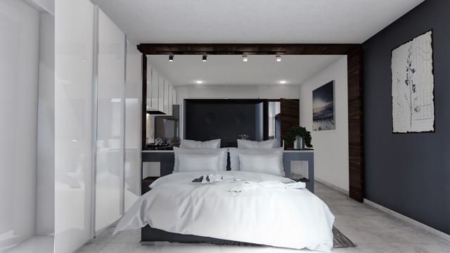 Recámara - Cosmo 42 - playa del Carmen - Pelicano Properties