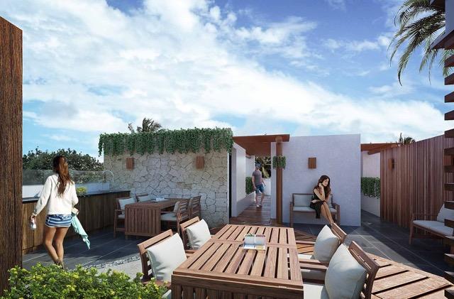 Roof áera de estar 2 - Cosmo 42 - playa del Carmen - Pelicano Properties