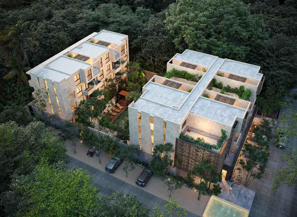VISTA-AÉREA - Baoré - Tulum - Pelicano Properties