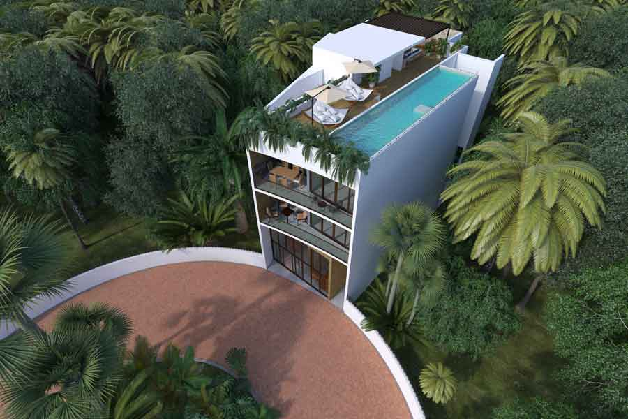 CAM05_IndB-Sin-coche-Pelicano-Properties-Playa-del-Carmen-Tulum