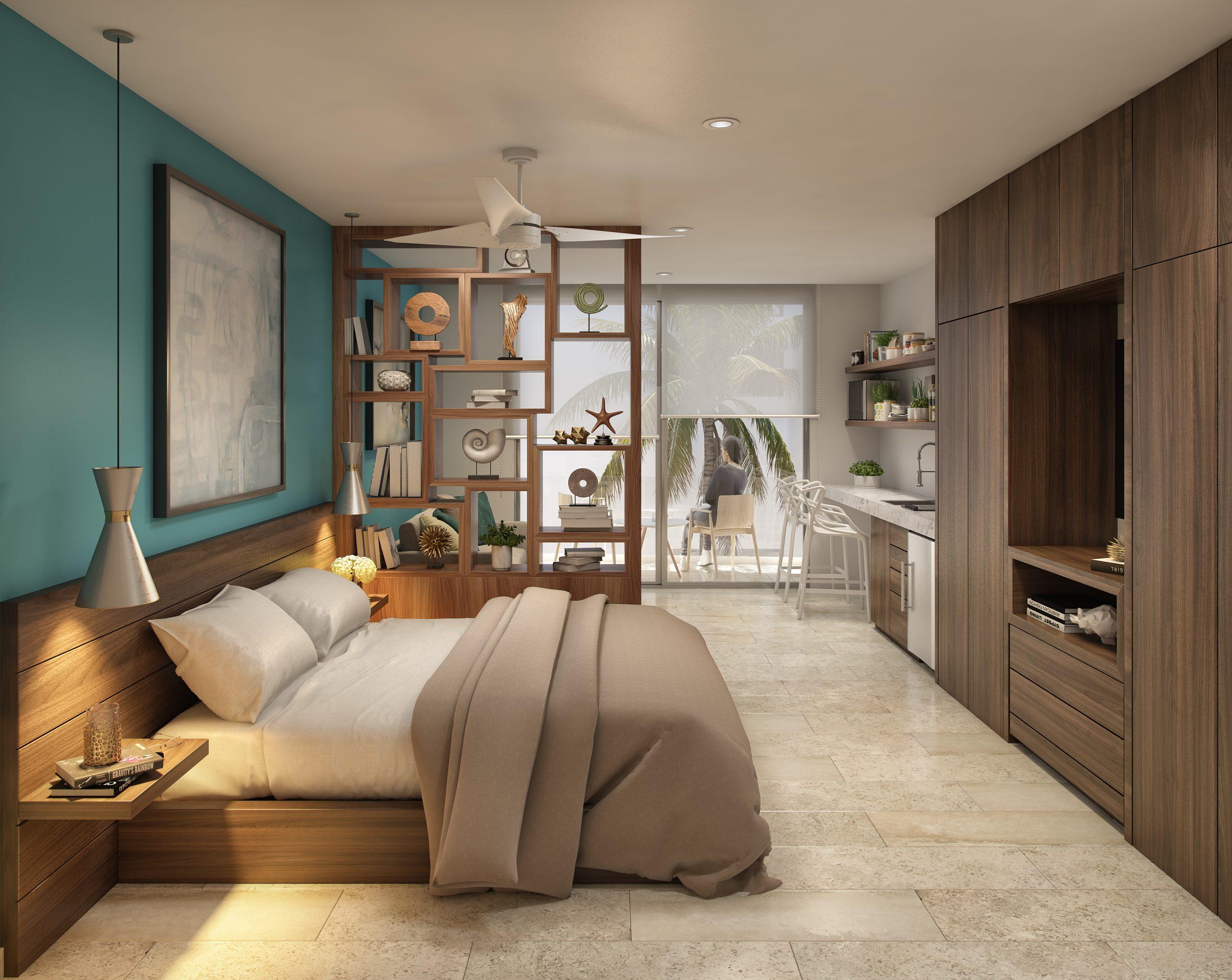 03 - DEPARTAMENTO 201 - PIEDRA AZULL - Pelicano Properties - Playa del Carmen