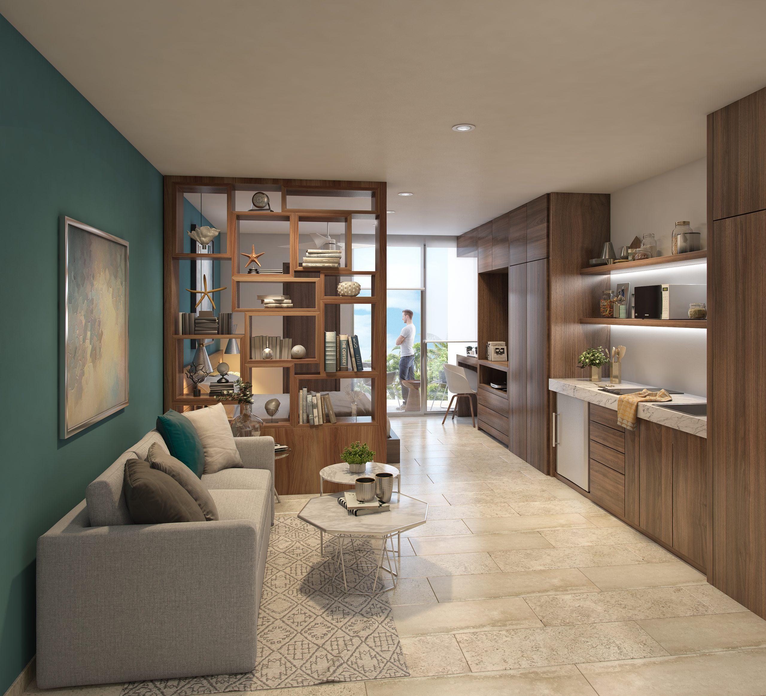 03 - DEPARTAMENTO 202 - PIEDRA AZULL - Pelicano Properties - Playa del Carmen