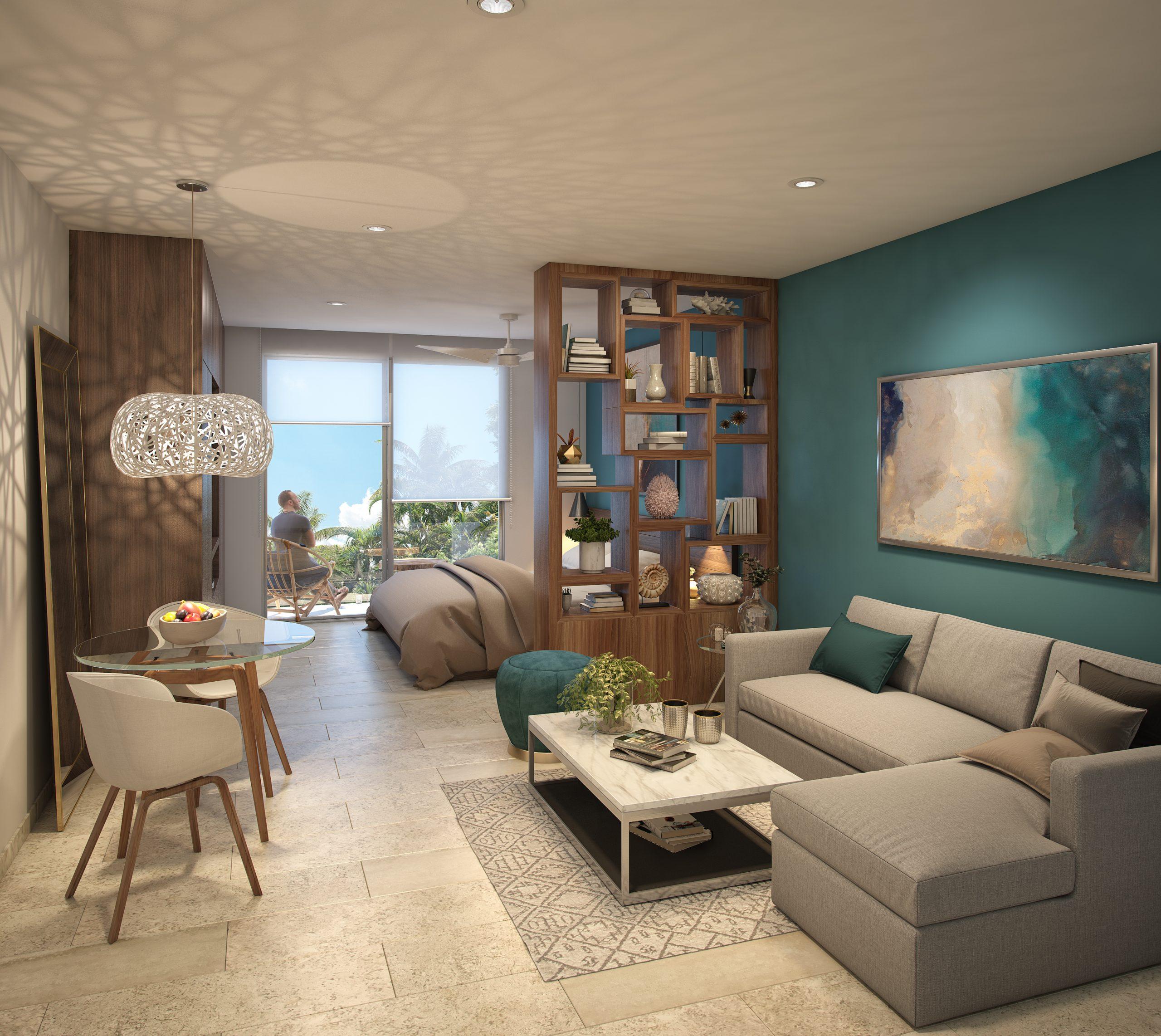 03 - DEPARTAMENTO 205 - PIEDRA AZULL - Pelicano Properties - Playa del Carmen
