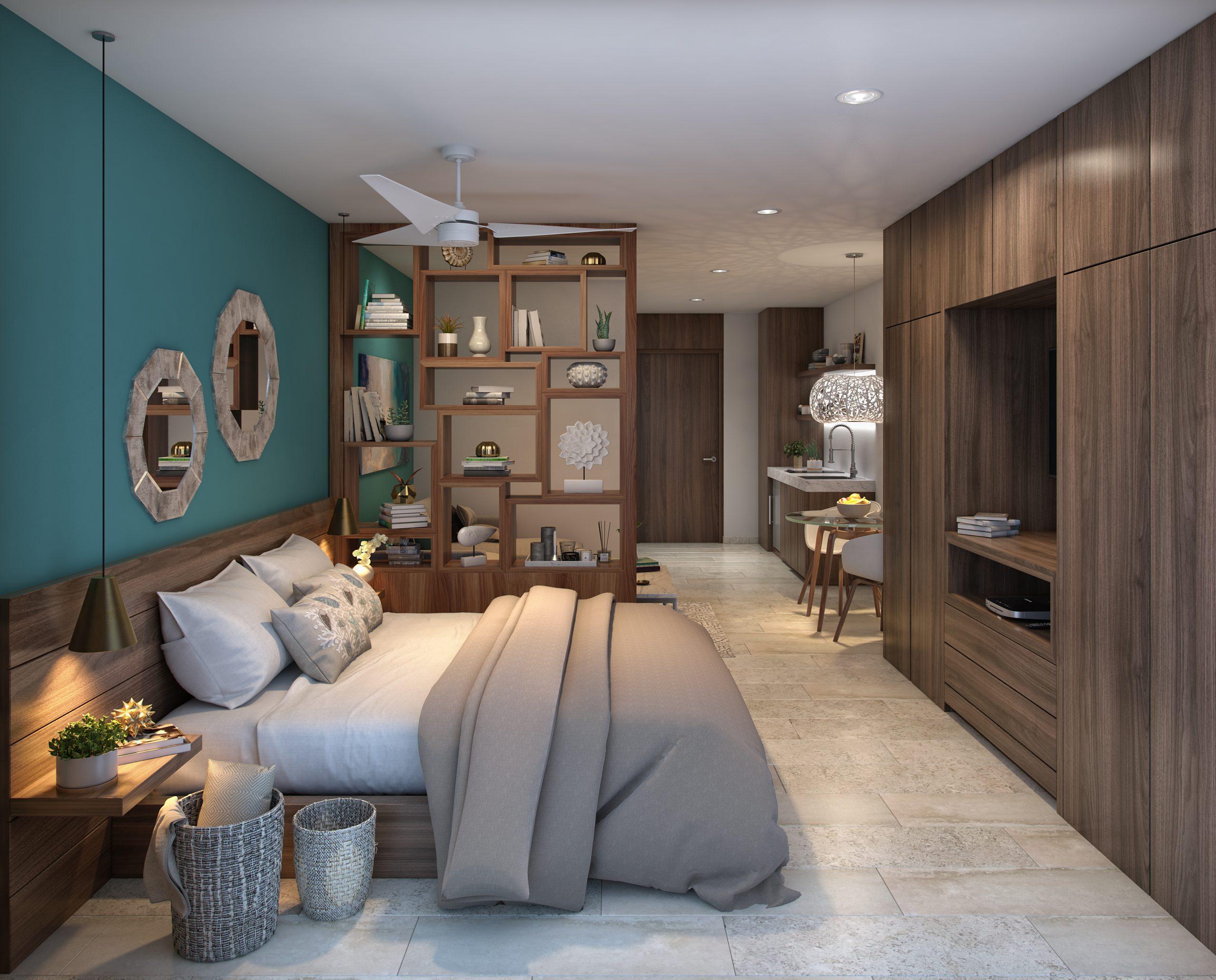 03 - DEPARTAMENTO 207 - PIEDRA AZULL - Pelicano Properties - Playa del Carmen