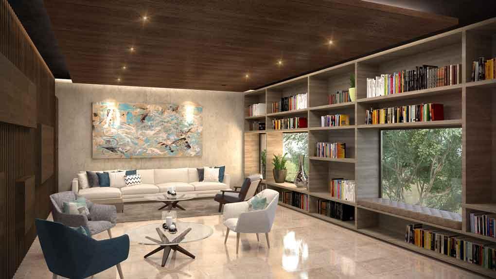 14 AREA-DE-LECTURAHUNAB---Pelicano-Properties---Tulum---Playa-del-Carmen