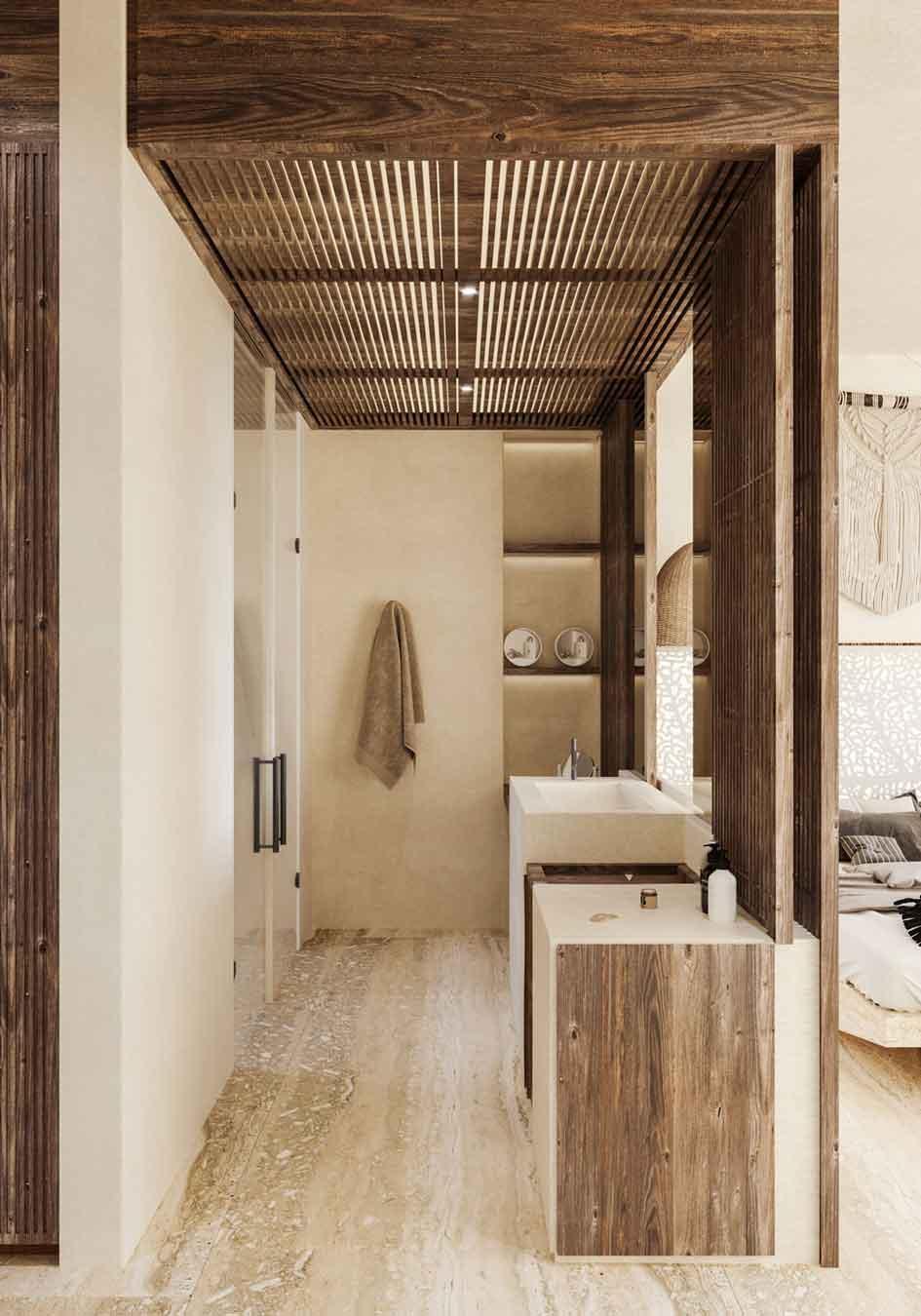 Baño HUNAB---Pelicano-Properties---Tulum---Playa-del-Carmen