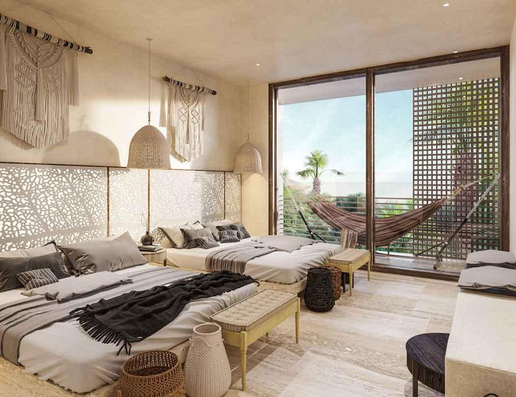Habitación_2 HUNAB---Pelicano-Properties---Tulum---Playa-del-Carmen