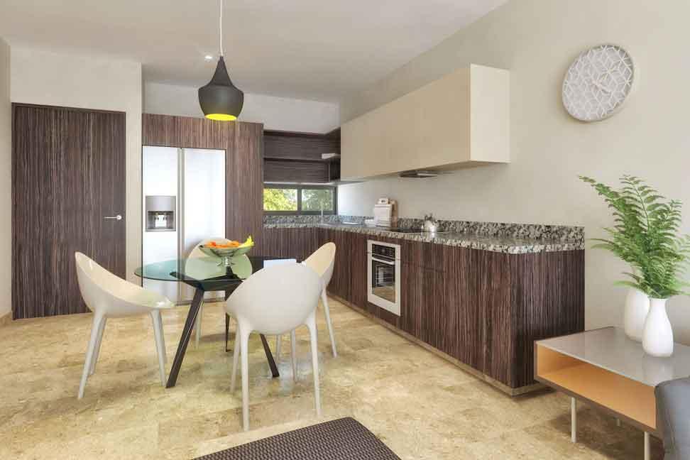 Cocina---Pelicano-Properties---Playa-del-Carmen---Tulum