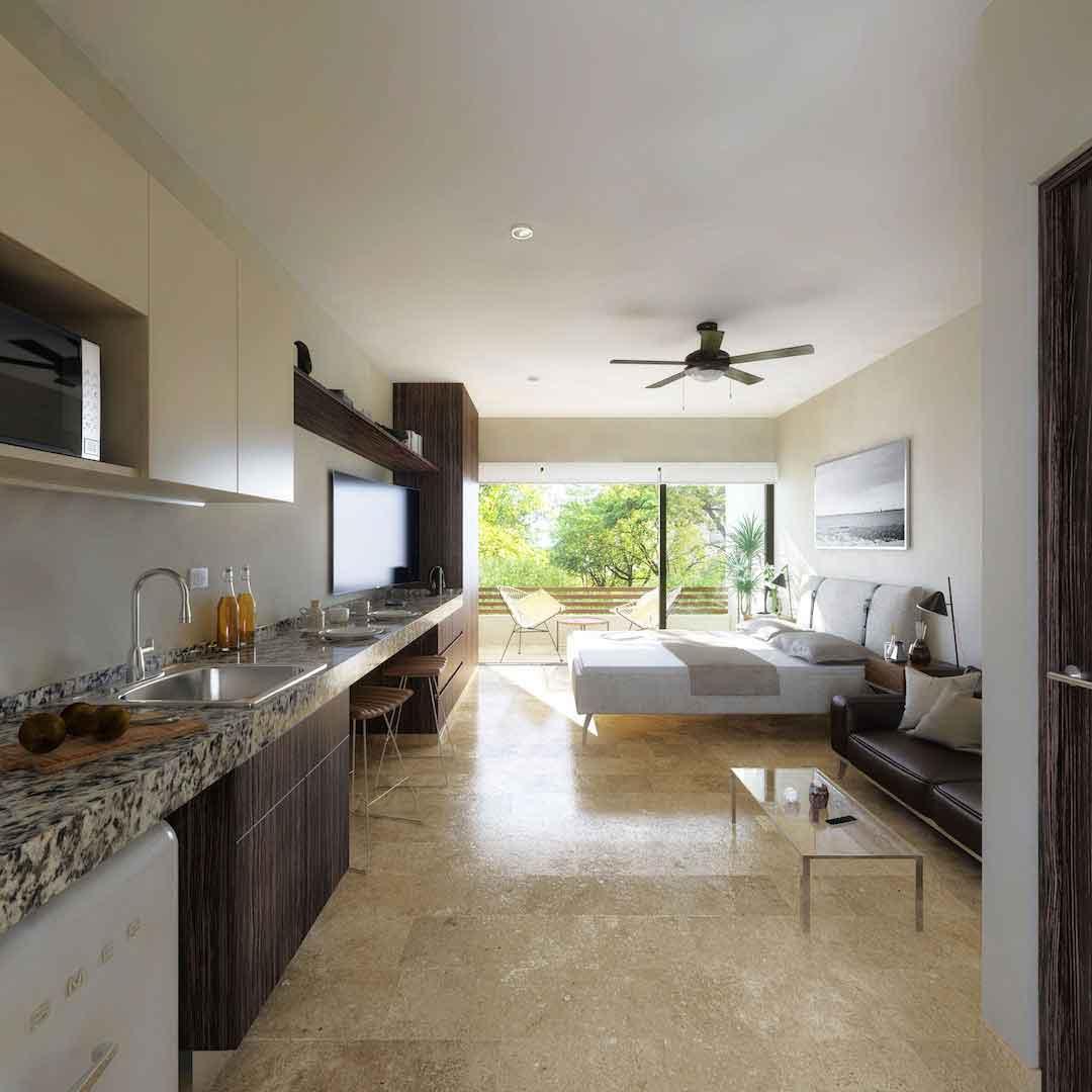 Estudio--Pelicano-Properties---Playa-del-Carmen---Tulum