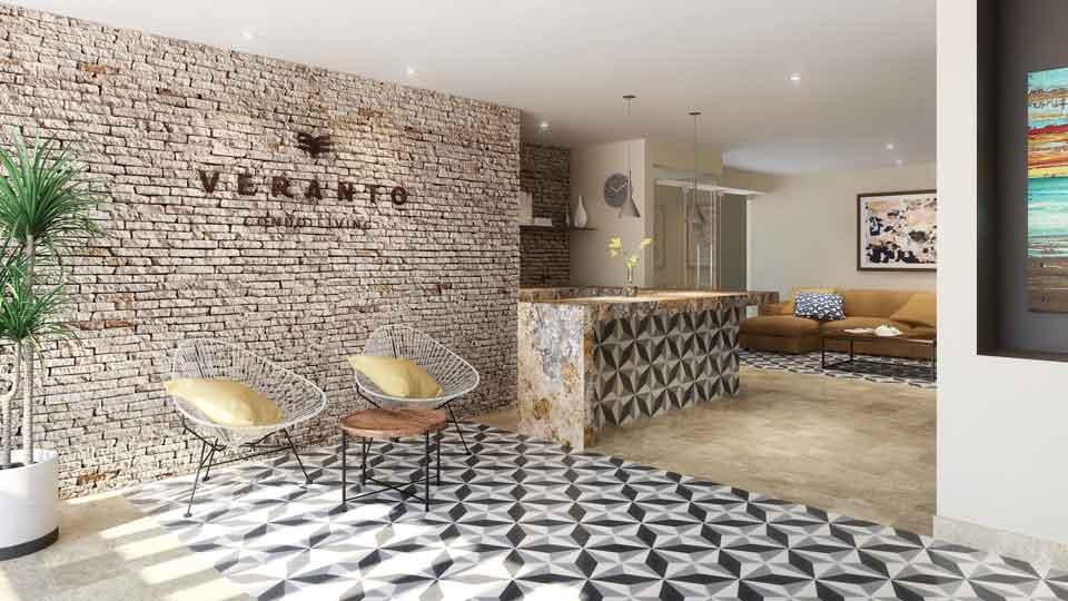Lobby--Pelicano-Properties---Playa-del-Carmen---Tulum