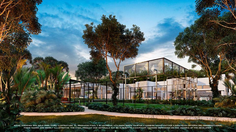 Cancha_padel - Pelicano-Properties---playa-del-Carmen--Tulum---Cancun