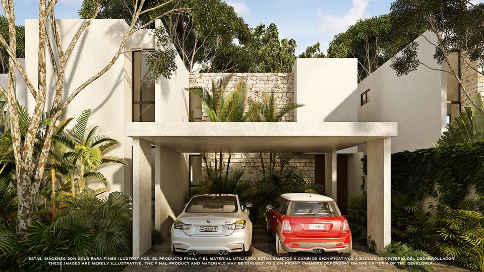 Casa_B_cochera---Pelicano-Properties---playa-del-Carmen--Tulum---Cancun