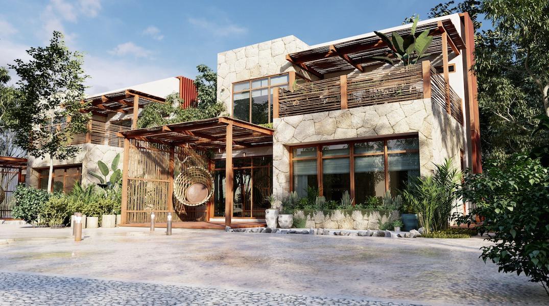 FACHADA 2 - SELVA NORTE - Pelicano Properties - Playa del Carmen - Tulum - Cancun