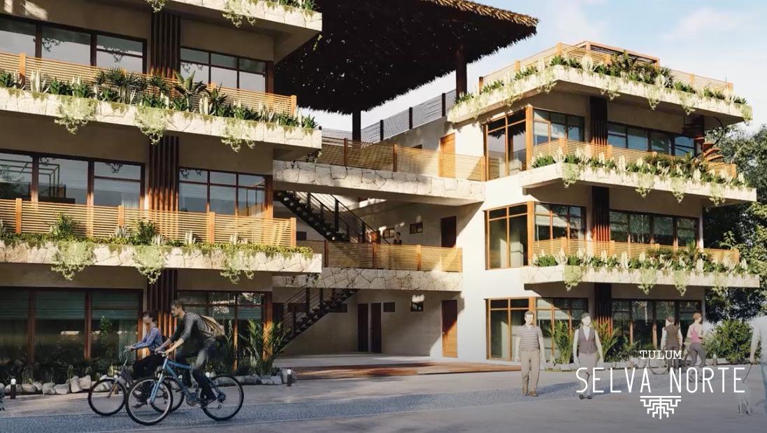 FACHADA EDIFICIOS 2 - Pelicano Properties - Playa del Carmen - Tulum - Cancun