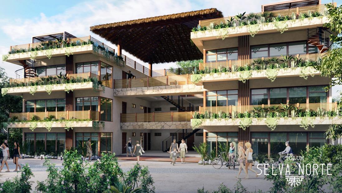 FACHADA EDIFICIOS 3- Pelicano Properties - Playa del Carmen - Tulum - Cancun