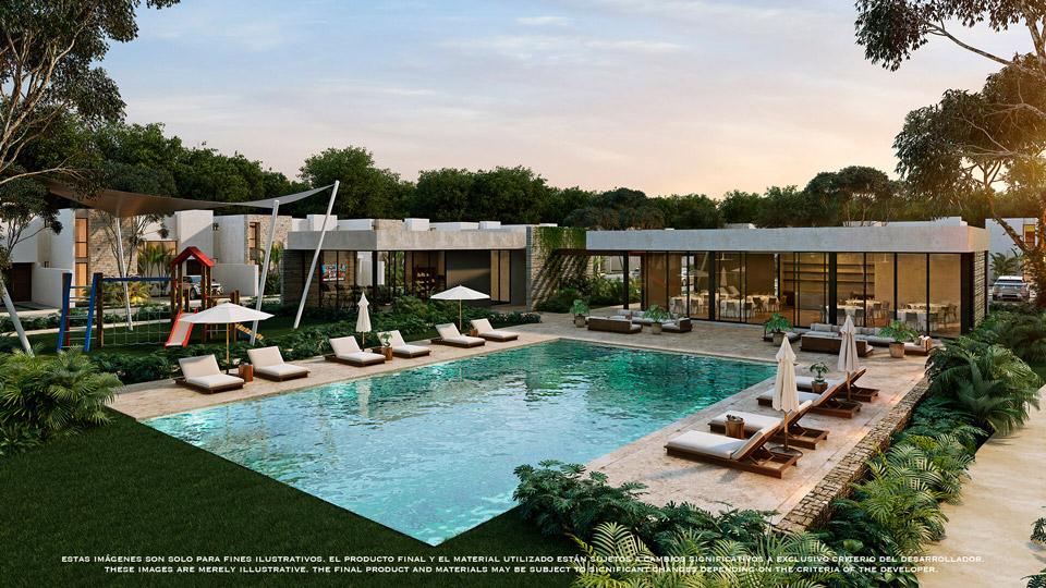 PISCINA---Pelicano-Properties---playa-del-Carmen--Tulum---Cancun