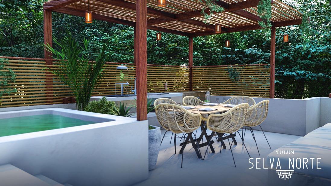 ROOF GARDEN 6 - SELVA NORTE - Pelicano Properties - Playa del Carmen - Tulum - Cancun