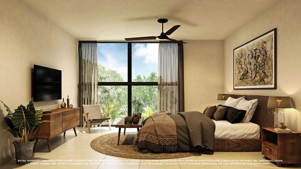 Recamara---Pelicano-Properties---playa-del-Carmen--Tulum---Cancun