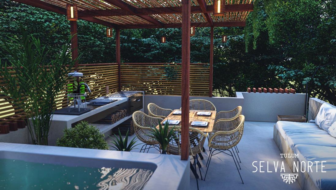 Roof Garden - SELVA NORTE - Pelicano Properties - Playa del Carmen - Tulum - Cancun