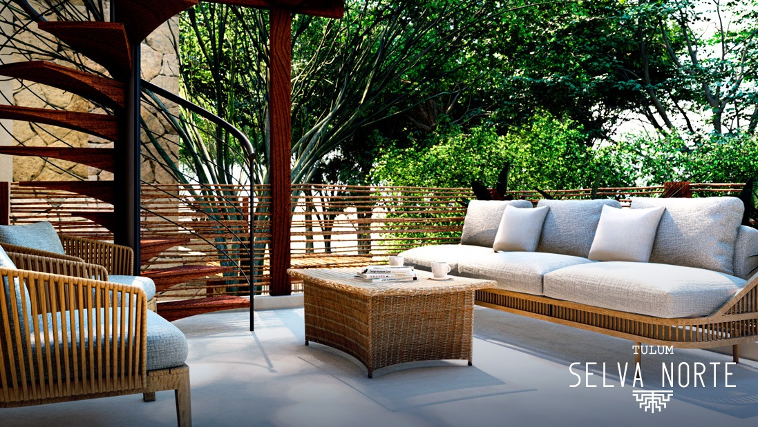 TERRAZA - SELVA NORTE - Pelicano Properties - Playa del Carmen - Tulum - Cancun